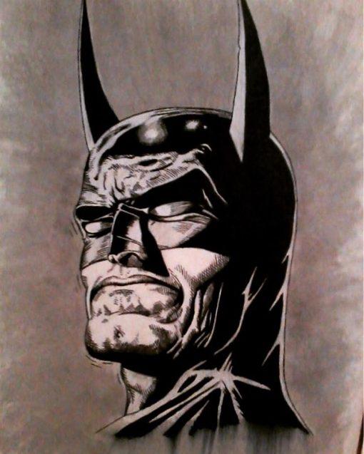 Batman manwith passion Paweł Worobiej