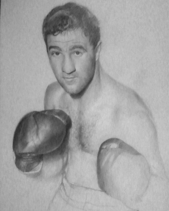 Rocky Marciano Manwith Passion Paweł Worobiej WORO