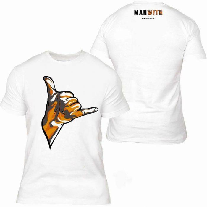 koszulka Gest Shaka - Manwith Passion Paweł WORO Worobiej
