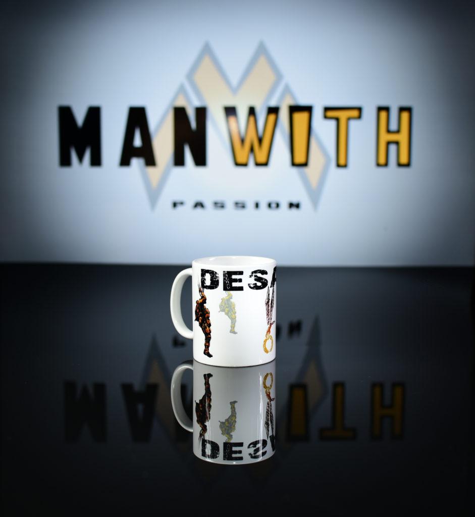 kubek gapa desant - Manwith Passion Paweł Worobiej WORO