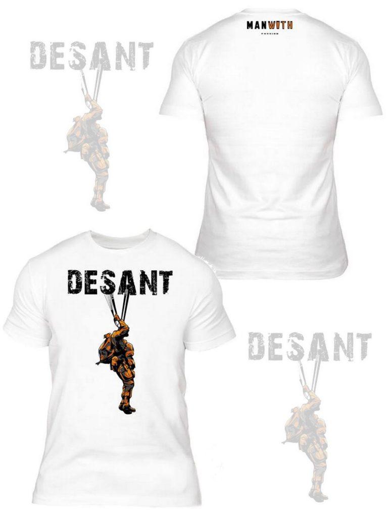koszulki DESANT Manwith Passion Paweł Worobiej WORO, wojsko