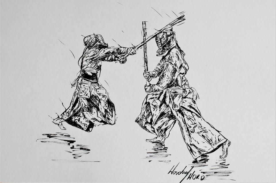 Michał Krypa w Kendo od Woro
