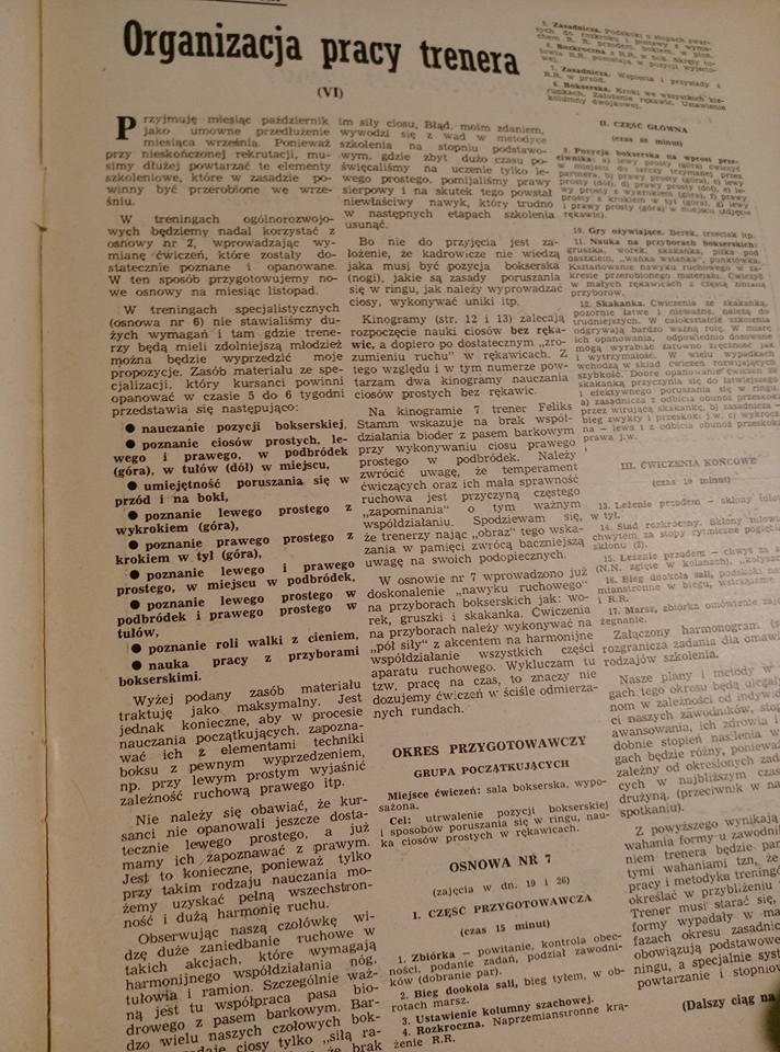 historia Polskiego jak i światowego boksu woro