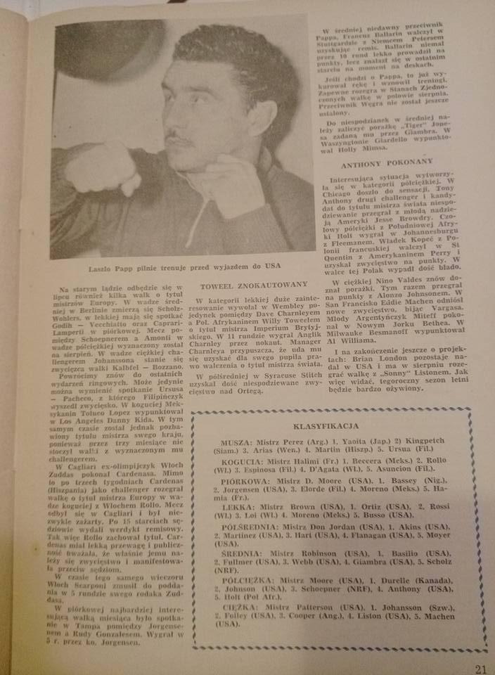 boks Nr. 7. Lipiec 1959r.