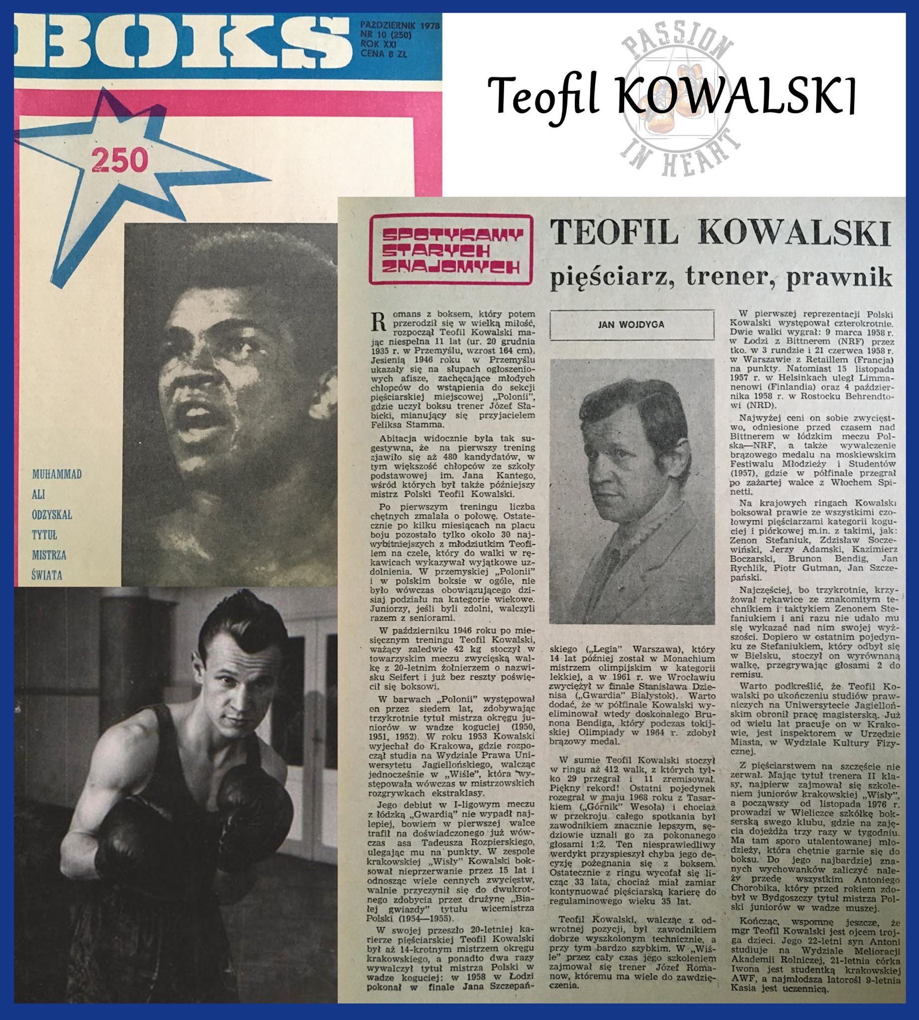 Teofil Kowalski by woro