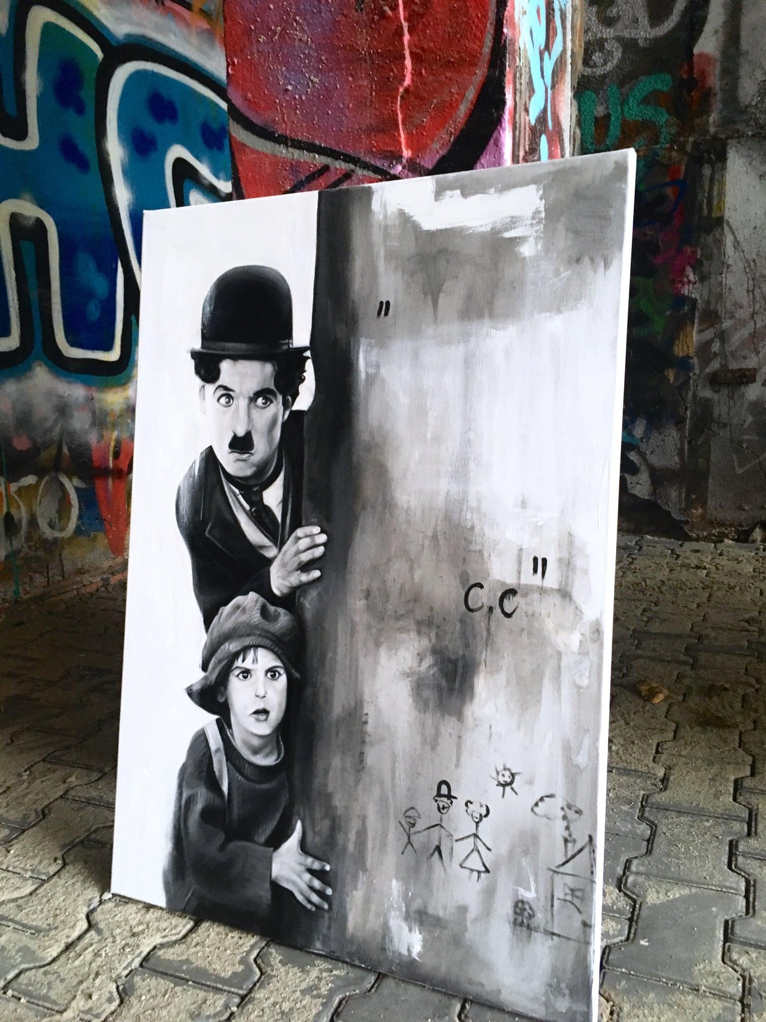 Charlie Chaplin WORO Paweł Worobiej Manwith Passion