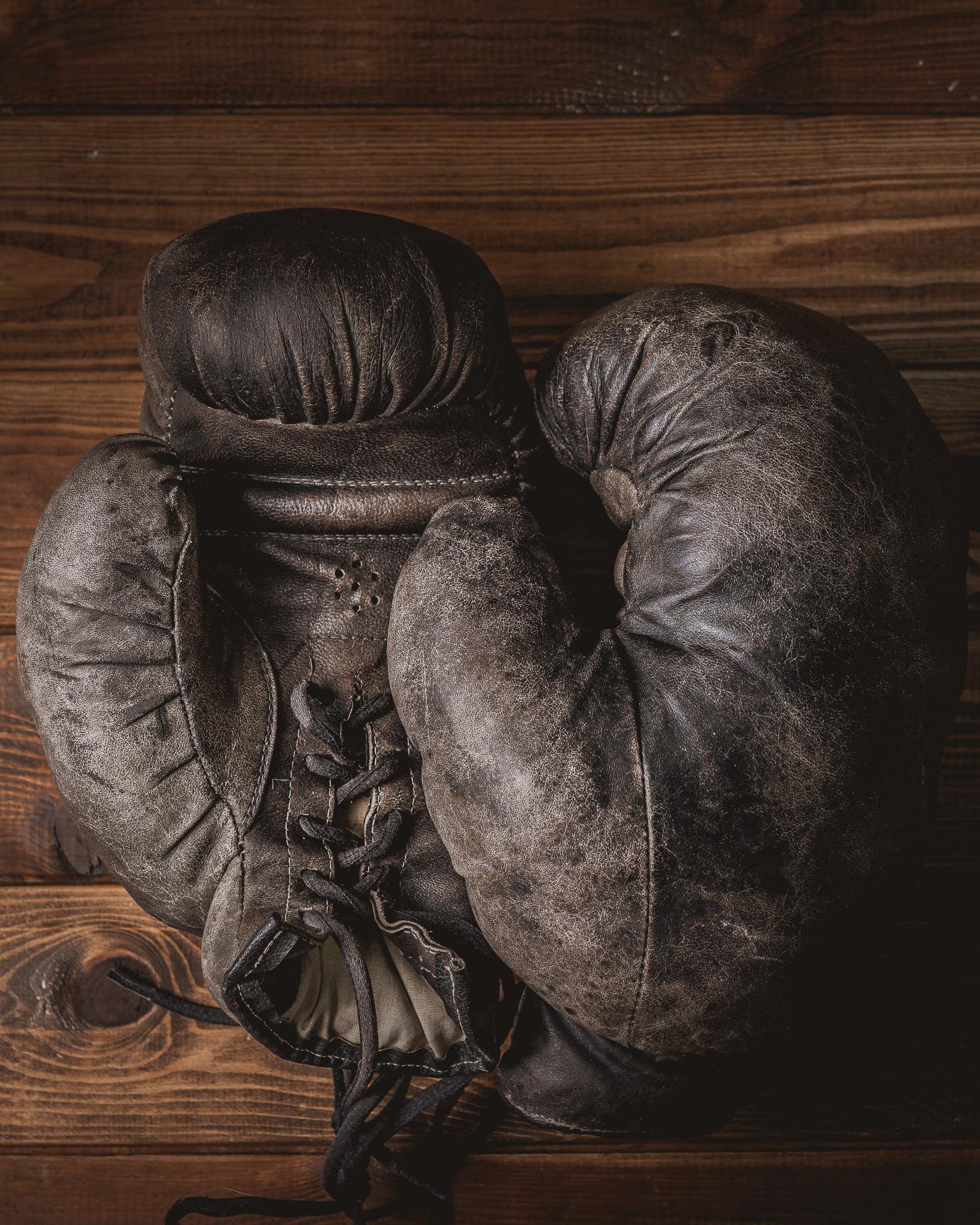 Rękawice bokserskie - WORO Paweł Worobiej Manwith Passion